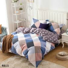1 piece duvet cover with zipper 100 cotton quilt or comforter or blanket case past
