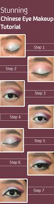 stunning chinese eye makeup tutorial step by step with images