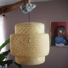 bamboo pendant light. Bamboo Pendant Light D