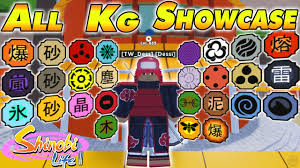 NEW CODE] ALL Kekkei Genkai Max Level Showcase