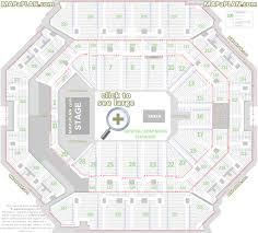 Barclays Center Boxing Seating Chart Barclays Center Brooklyn Nets Concerts Seat Numbers
