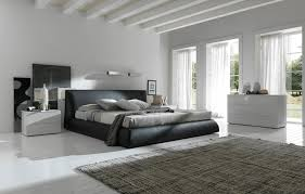 Modern Design Bedrooms Minimalist Modern Design Modern King Size Bed With White Ceramics