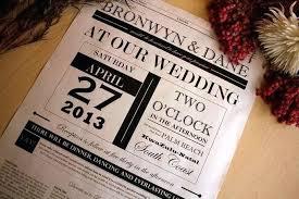 Wedding Invitation Newspaper Template Wedding Newspaper Template Announcement 50th Anniversary