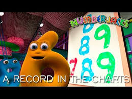 Numberjacks A Record In The Charts S2e9 Youtube