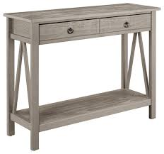 linon home decor products titian console table antique reviews