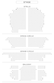 Palace Theatre London Seating Plan Reviews Seatplan