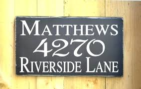 personalized wooden sign for home custom wood signs rustic address outdoor name personalised bar