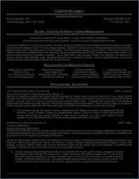 Logistics Resumes Resume for Logistics globishme 44