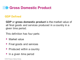21 MEASURING GDP AND ECONOMIC GROWTH © 2012 Pearson Addison-Wesley. - ppt  download
