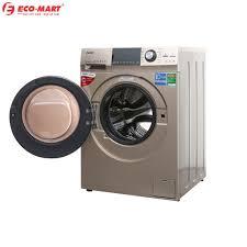 Máy giặt Aqua cửa ngang 10 kg màu vàng kim AQD-DD1000A.N