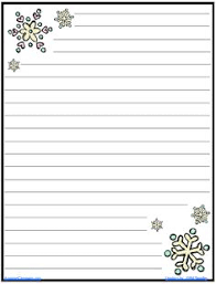 winter writing paper here are printable winter writing  snowflake writing paper the amazingclassroom com blog snowflake journal writing paper