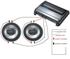 did i hook up my dual voice coil subs correctly mp3car com did i hook up my dual voice coil subs correctly