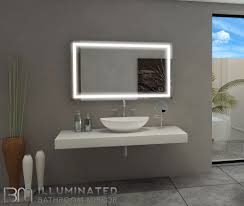 Dimmable Lighted Mirror Harmony  X  Light Bathroom And - Bathroom dimmer light switch