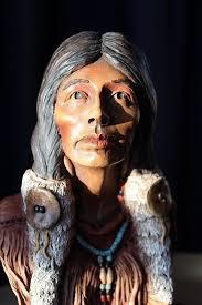 Neil Rose Wild Rose Sculpture Native American C1991 Limited ...