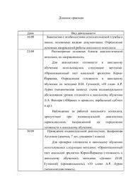 Отчет по психологической практике в школе doc Все для студента Отчет по психологической практике в школе