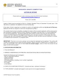 Sample Of Proposal Letters Best Photos Letter Intent Grant Writing Sample Proposal Cover Letter
