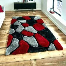 red gray and white area rugs rug factory plus hand tufted reviews red and black area rugs the modern