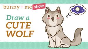 cute simple wolf drawing. Delighful Wolf Intended Cute Simple Wolf Drawing R