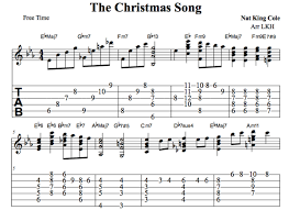 Any cd doug smith creates is a collection any lover of acoustic guitar should have. Nat King Cole S Christmas Song Guitar Chords Melody Tab Video Lessons Spinditty