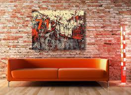 orange black white cream grey urban abstract industrial canvas on black and cream wall art uk with orange cream black grey and white canvas wall art print 1971