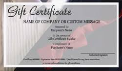 Store Gift Certificate Template Clothing Store Gift Certificate Templates Easy To Use Gift