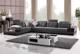 modern sectional sofas microfiber.  Modern Microfiber Couches Corner Sectional Sofas Intended Modern E