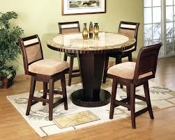 round granite table top dining contemporary dinette sets with round black granite table top plus ladder round granite table