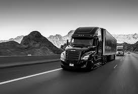 freightliner semi tractor transport