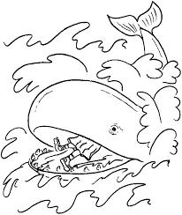 Jonah Coloring Pages Printable Anneliesedalabaorg
