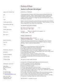 Junior Web Developer Resume Lovely Graduate Cv Template Student Jobs