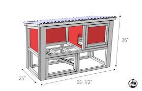 rabbit house plans. DIY Rabbit Hutch Plans - Dimensions House Rogue Engineer