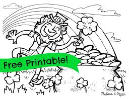 Small Picture Printable St Patricks Day Coloring Pages For Toddlers