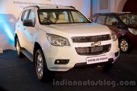 Chevrolet Trailblazer and Spin MPV unveiled in Delhi