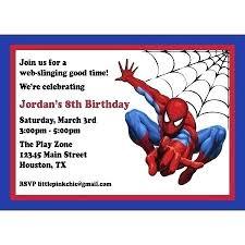 Spiderman Birthday Invitation Templates Free Spiderman Birthday Card Leanjava
