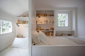 Two Bedroom And Book Storage Design For Small