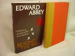 beyond wall essays from outside by edward abbey hardcover  image is loading beyond wall essays from outside by edward abbey