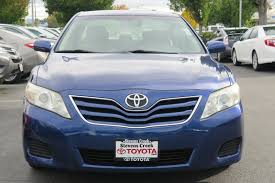 Pre-Owned 2010 Toyota Camry Le Sedan 4dr Car in San Jose #RR4995 ...