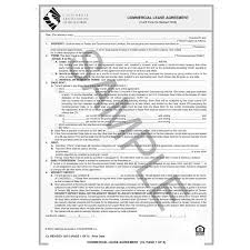Sample Commercial Lease Agreement Awesome CL Commercial Lease Agreement CAR Business Products