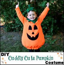 Pumpkin Costume Pattern