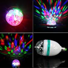 Rgb E27 Disco Lamp