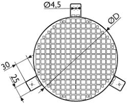<b>Защитные решетки для</b> круглых каналов БСК