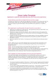 How To Write Cover Letter For A Job That You Have No Experience In