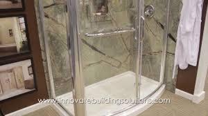 shower surround panels bathroom wall image diy kits pvc faux stone