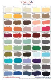 Dixie Belle Paint Color Chart Colors Offered By Dixie Belle I Want To Try Them All In