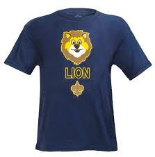 Cub Scout Lion Rank Uniform T Shirt Youth