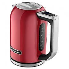 kitchenaid variable temperature kettle red
