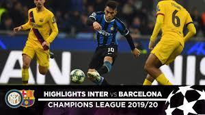 INTER 1-2 BARCELONA | HIGHLIGHTS | Matchday 06 - UEFA Champions League  2019/20