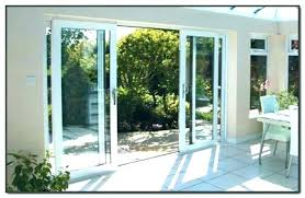 foot sliding glass door s panel replacement impressive four patio doors cost of aluminium