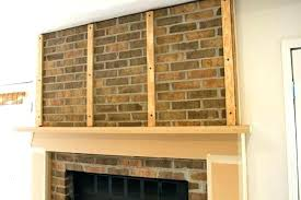 refacing a fireplace reface brick fireplace refacing brick fireplace fireplace refacing brick fireplace cost refinish brick refacing a fireplace