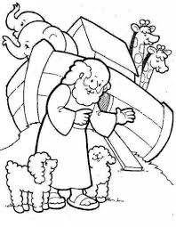 Noahs Ark Coloring Page intended to Really encourage in coloring ...